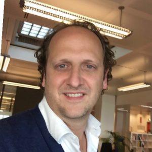 Daniel Kok, werkzaam als bureaumanager bij Linda & Talpa Networks